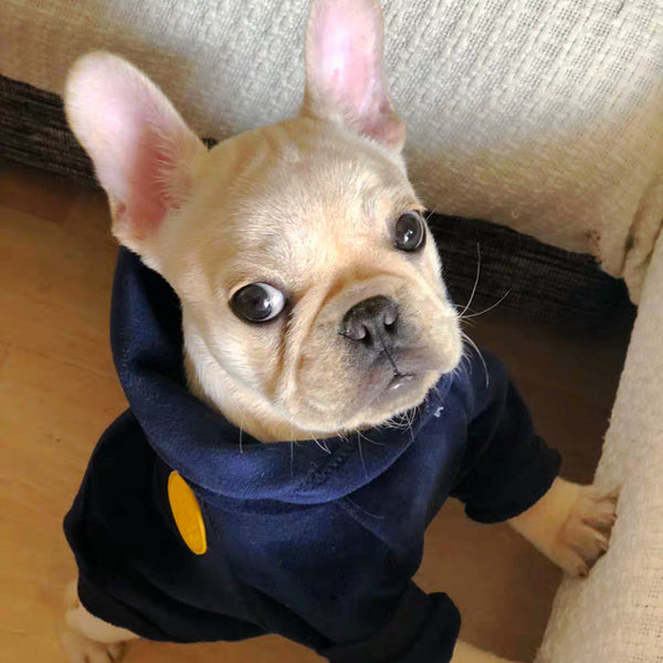 Comfy and Cool Dog Fleece Hoodie. Sizes Run Small. Check the Size Chart Below