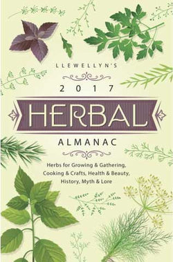 2017 Herbal Almanac by Llewellyn