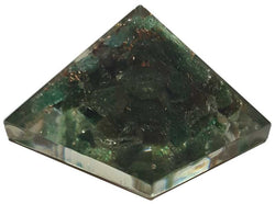 Orgonite 25-30mm Green Adventurine Pyramid