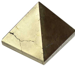 30 - 35 mm Pyrite Pyramid