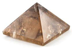 30-35mm Smoky Quartz Pyramid
