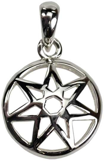 Seven-Pointed Fairy Star Sterling Silver
