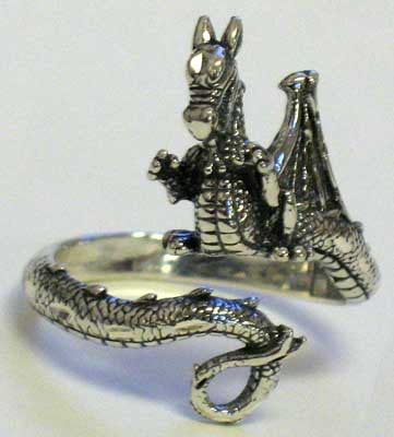 Dragon, Adjustable Ring
