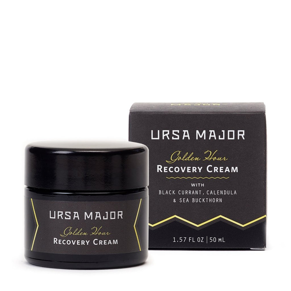 URSA MAJOR GOLDEN HOUR RECOVERY CREAM: Rich yet fast-absorbing face cream provides deep hydration and nourishment