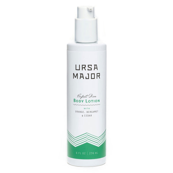 URSA MAJOR PERFECT ZEN BODY LOTION: Traces of sweet orange, bergamot and cedar