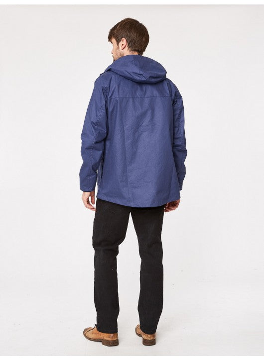THOUGHT NAVY IVAN OUTERWEAR WATERPROOF SHORT JACKET