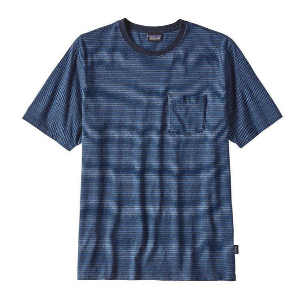 PATAGONIA VIKING BLUE SQUEAKY CLEAN POCKET TEE
