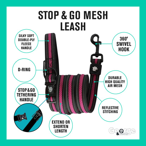 Stop & Go Mesh Leash