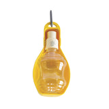 George & Friends Portable Dog Water Bottle - Yellow, Dog Bowl, George & Friends - George & Friends