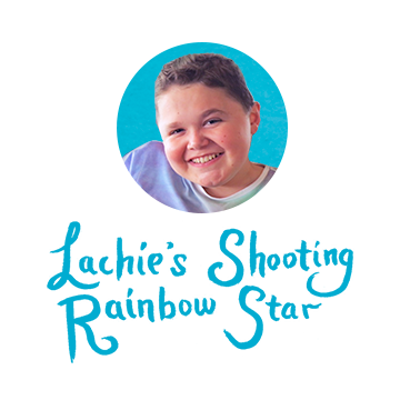 Lachie's Shooting Rainbow Star