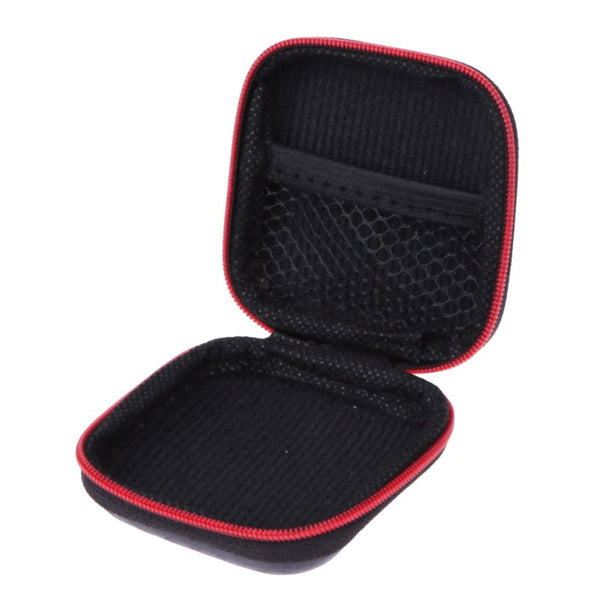 Earphone Case Storage Carry Bag for Earphone Earbuds Hard Case Cables SD Headphones Storage Case Box