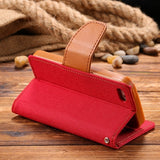 Flip Style Leather Skin Full Protective Case For iPhone 5S 5 5G Wallet Holster Cover For iPhone 5S