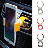 Universal 360 Degrees Mount Bicycle Car Cell Phone Holder Stands iPhone Mobile Phone Clip Samsung