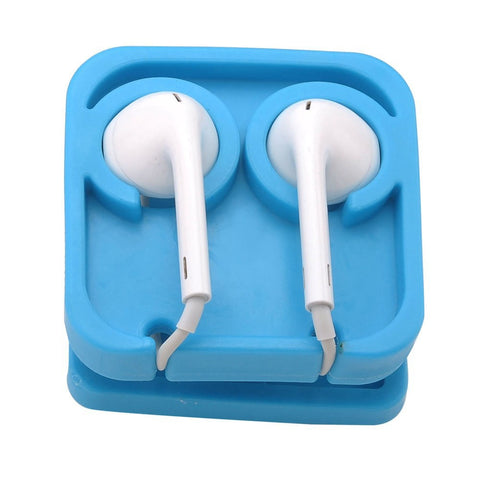 Earphone Earbud Cable Winder Headphone Holder Headset Wire Organizer Cable Cord Wrap iPhone Samsung
