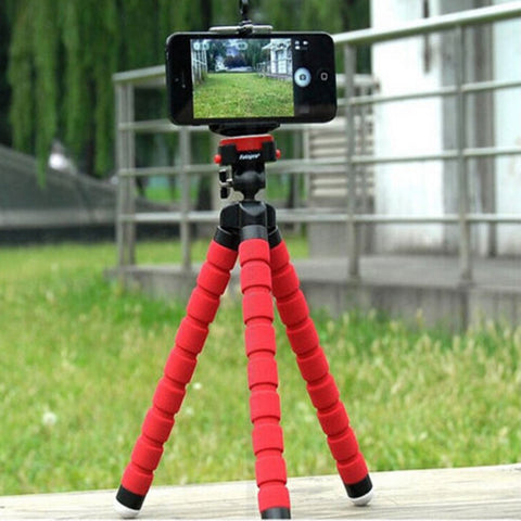 Mini Tripod Camera Mobile Phone Stand Flexible Grip Octopus Monopod Gopro Hero iPhone Android