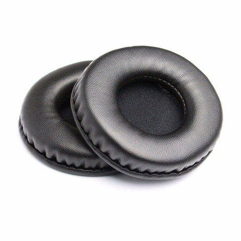 80mm Leather Foam Ear Pads Headphones Earpads Cushion Replacement Ear Pads Cushion