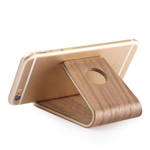 Classic Bamboo Wood Stand Phone Holder For iPhone iPad Samsung Galaxy and Note