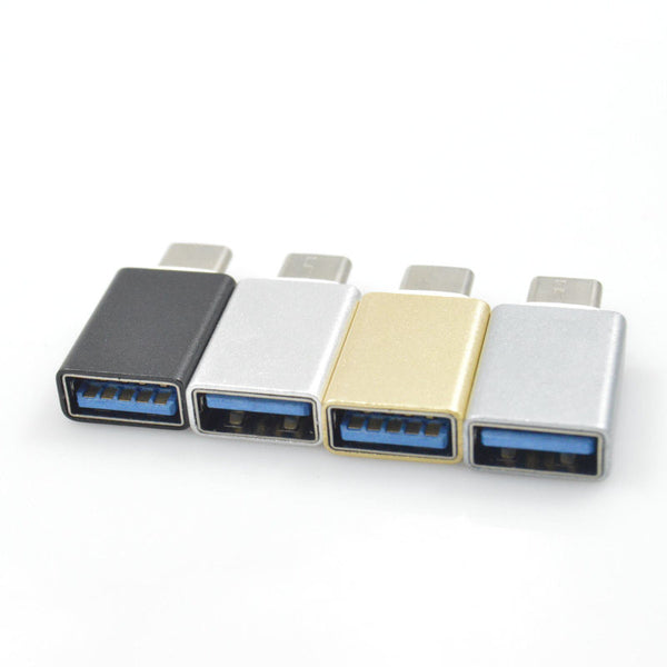 USB 3.0 Type C to USB Type A Male to Female OTG Data Connector Cable Adapter for Macbook Chromebook