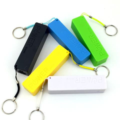 FREE USB External Portable Power Bank Battery Keychain Charger Powerpack iPhone Android