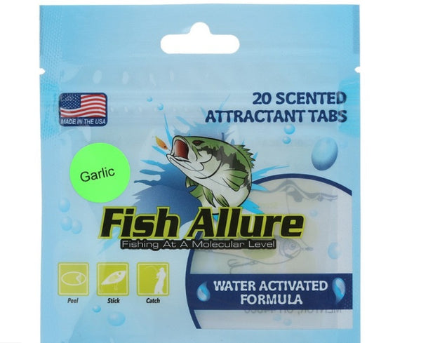 Fish Allure Scented Bait Tabs-Scent-TackleFreaks.com