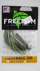 Freedom Tackle FT Football Jig-TackleFreaks.com