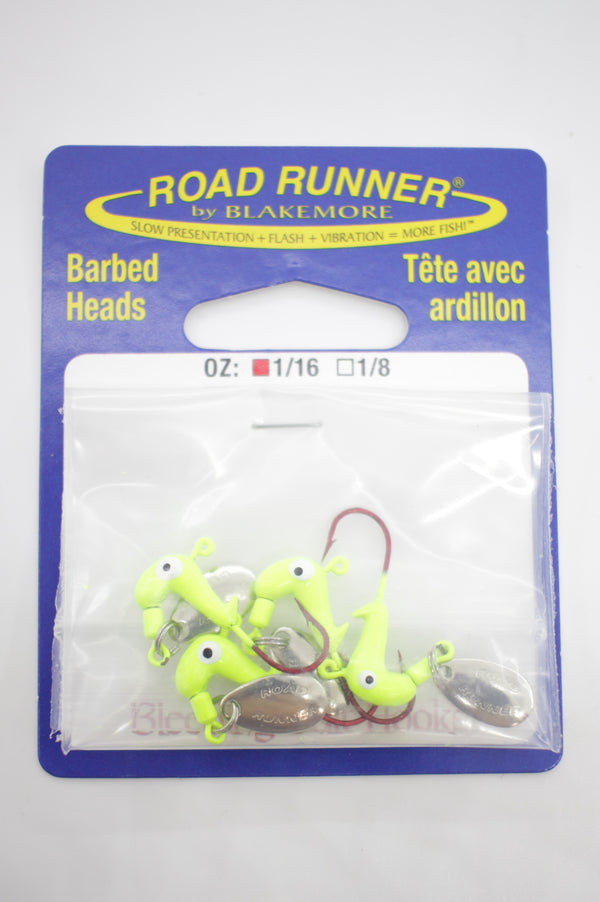 Blakemore Road Runners Jigs Barbed Heads-TackleFreaks.com