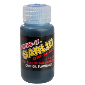Spike It Dip-N-Glo Garlic Worm Dye (2oz)-Dye-TackleFreaks.com