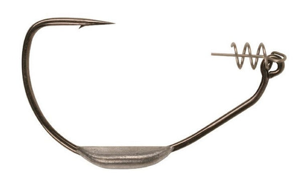 Owner Beast Weighted Shank Hooks w/Twist-Lock````z-Swimbait Hook-TackleFreaks.com