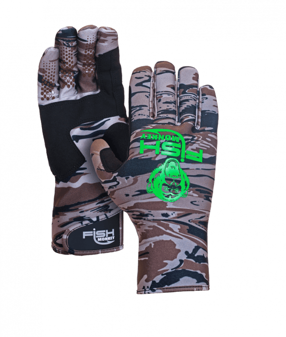 Fish Monkey Insulated Half Finger BackCountry Fishing Glove