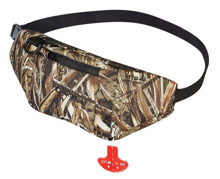 Onyx M-24 Manual Inflatable Belt (Max-5 Camo)-Life Vest-TackleFreaks.com