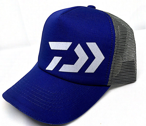 Daiwa D-VEC Trucker Cap Blue/Grey-Hat-TackleFreaks.com
