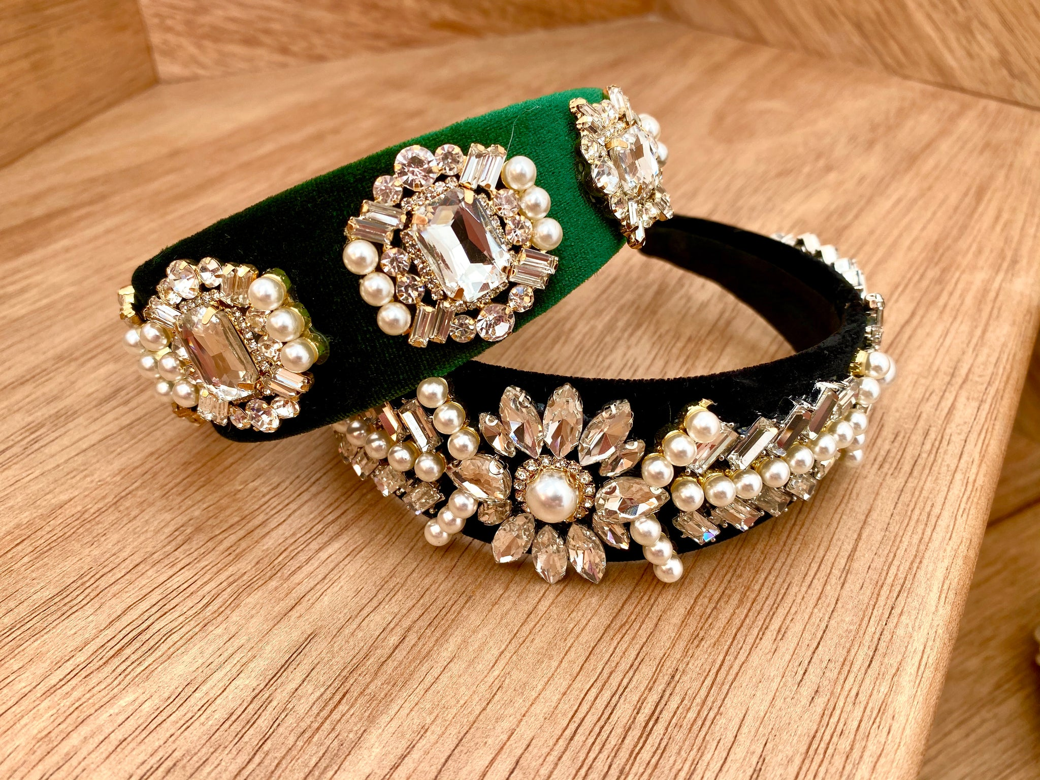 THE REGAL HEADBAND - DEEP EMERALD