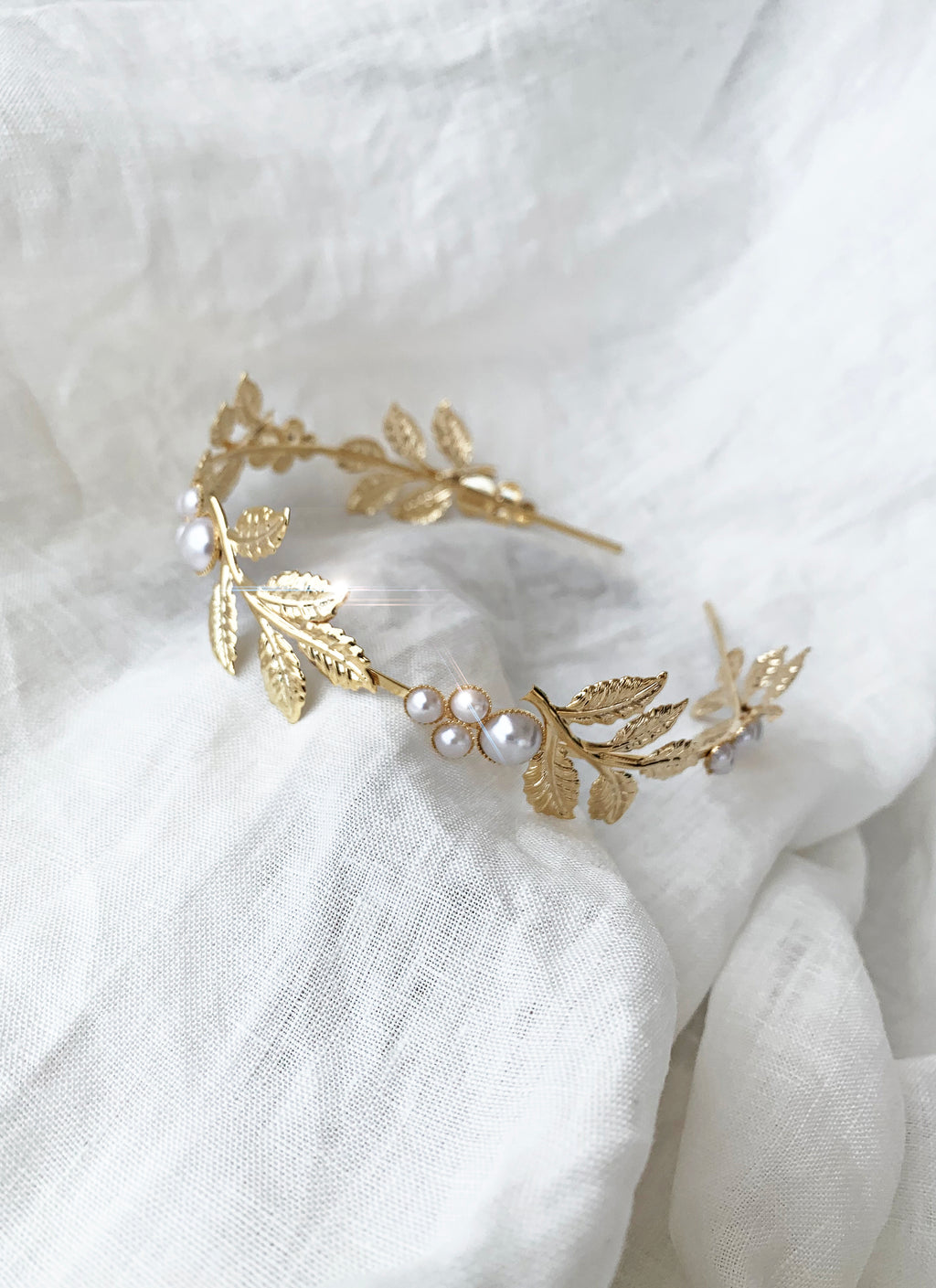 THE GODDESS HEADBAND - PEARL