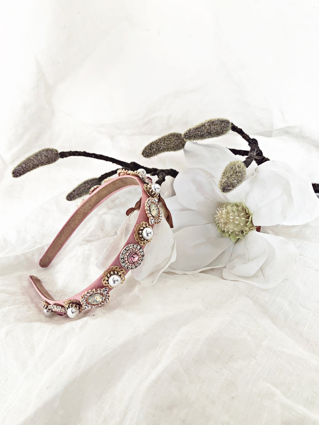 The Gemstone Headband - Pink