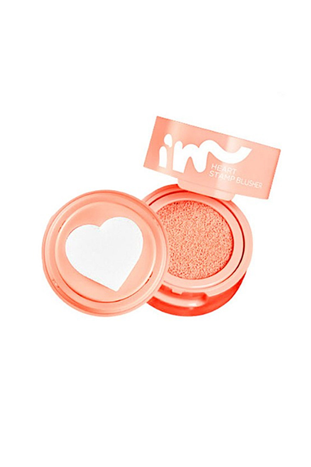 Heart Stamp Blusher - Coral