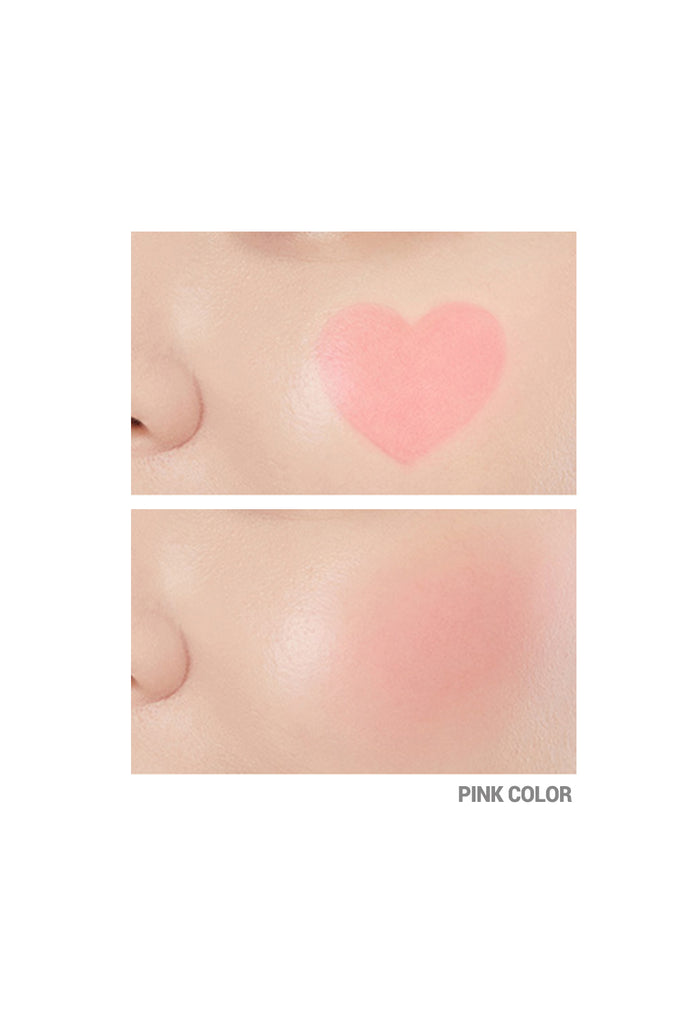 HEART STAMP BLUSHER - PINK