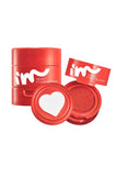 HEART STAMP BLUSHER - RED