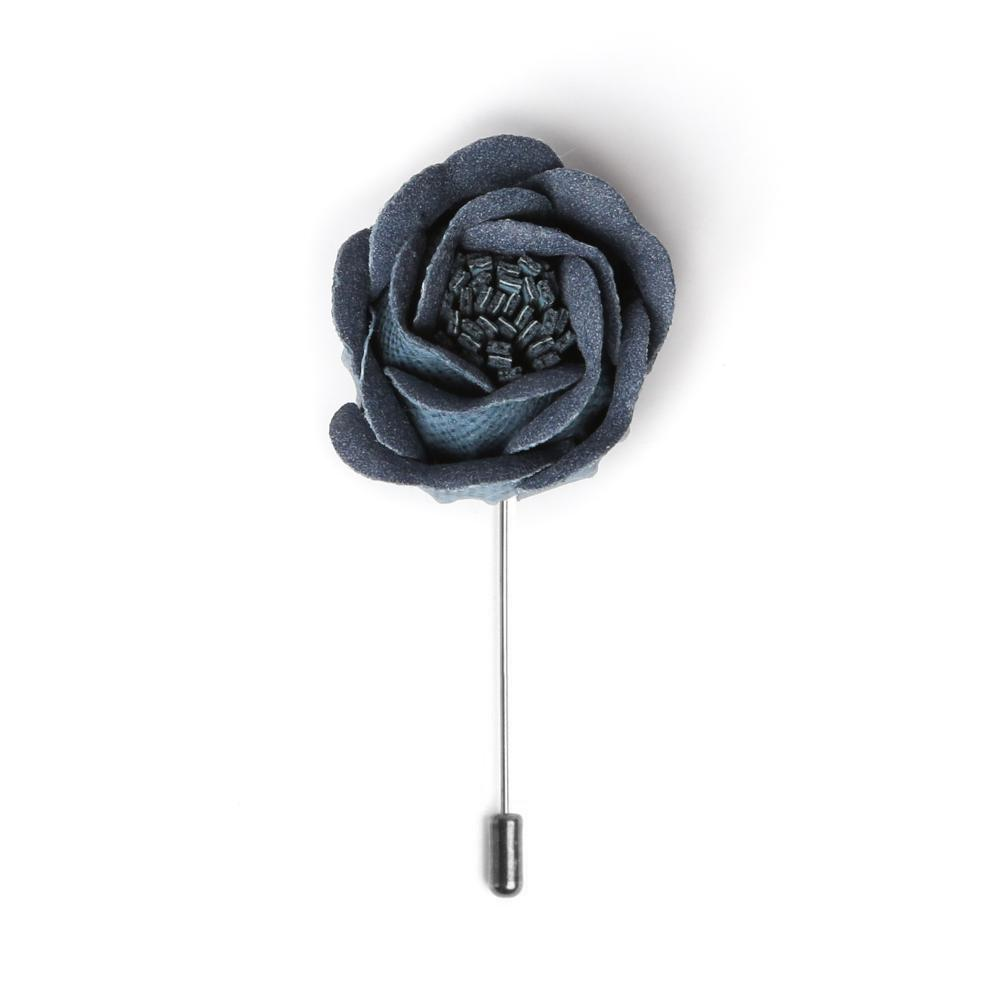 Aegean Rose Bud Deluxe Lapel Pin