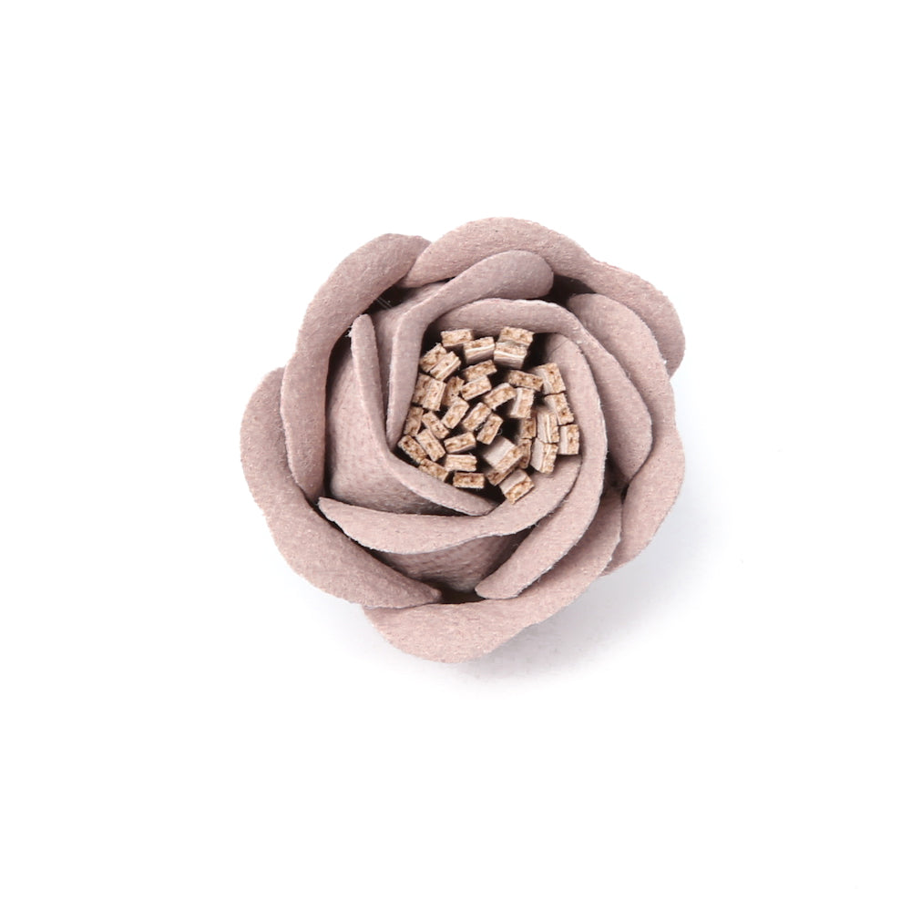 Soft Mauve Rose Bud Deluxe Pin