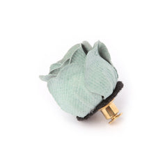 Sage Rose Bud Deluxe Pin