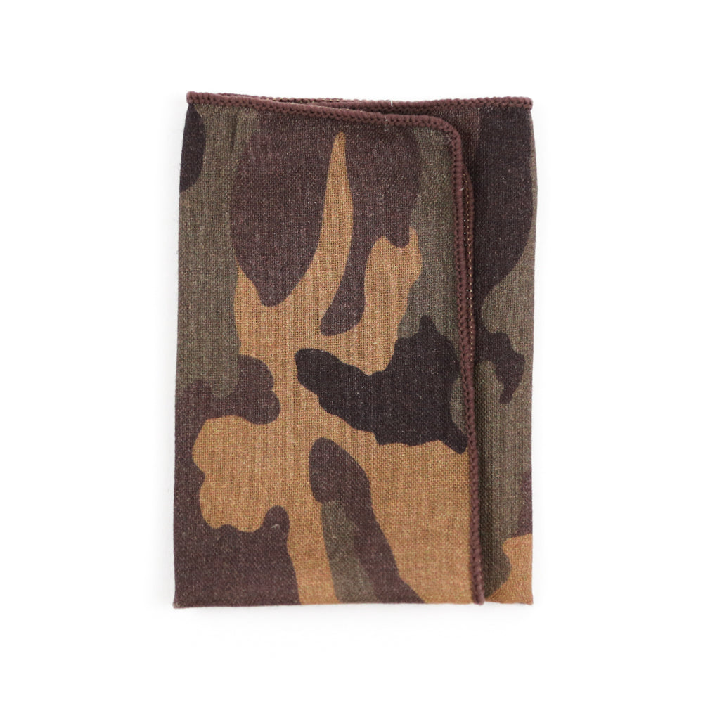 Woodland Camo Pocket Square