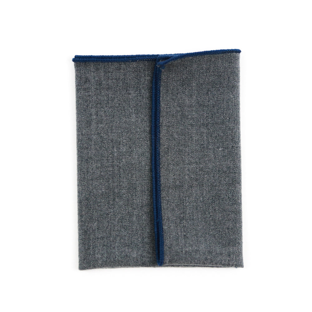 Devine Sterling Pocket Square