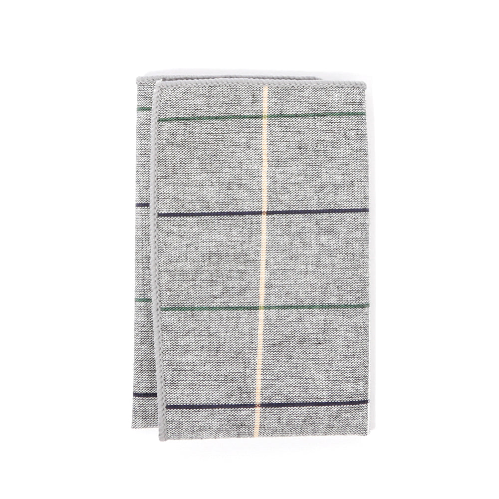 Linen Plaid Pocket Square