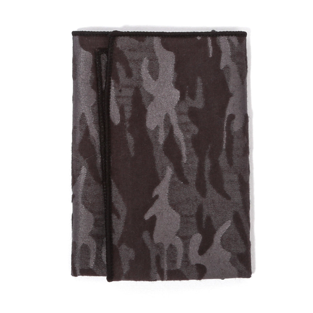Black Platinum Camo Pocket Square