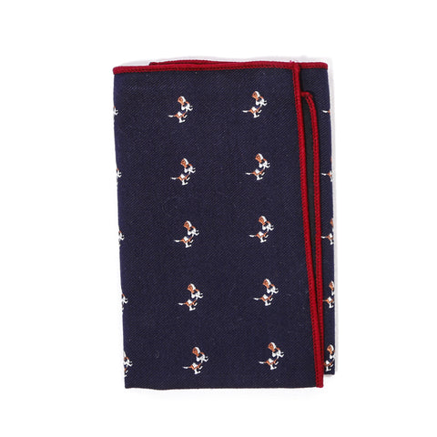 Beagle Pocket Square