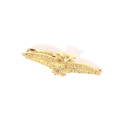 Flying Gold Owl Tie Bar