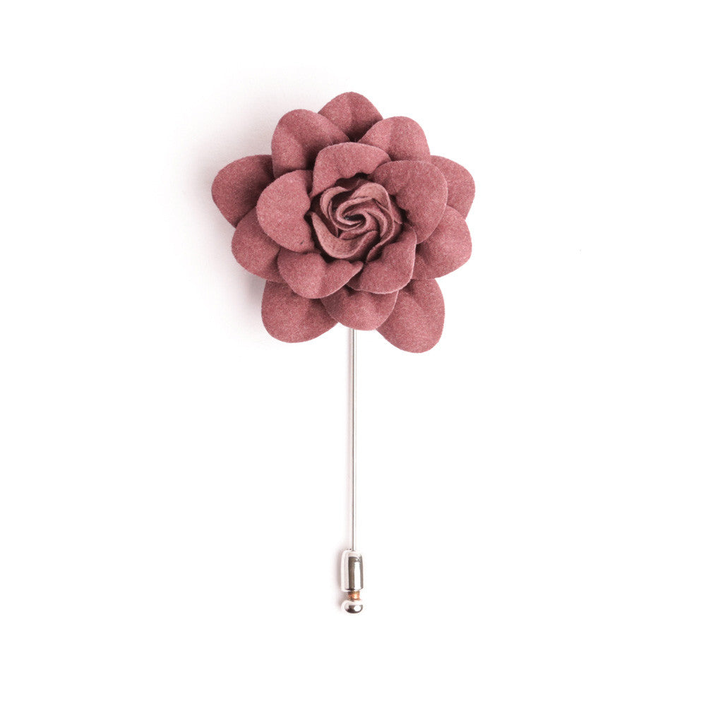 Dusty Rose Deluxe Lapel Pin