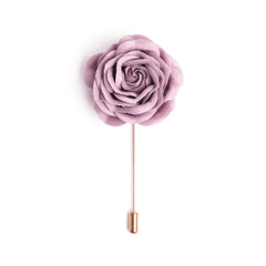 Rose Pink Deluxe Lapel Pin