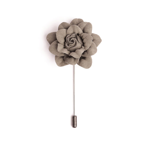 Slate Gray Deluxe Lapel Pin