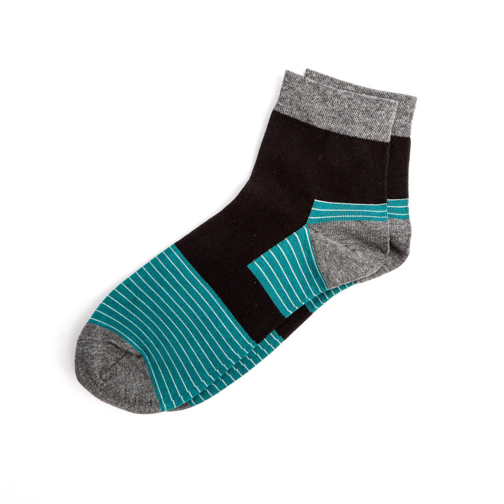 Mid Length Block Sock